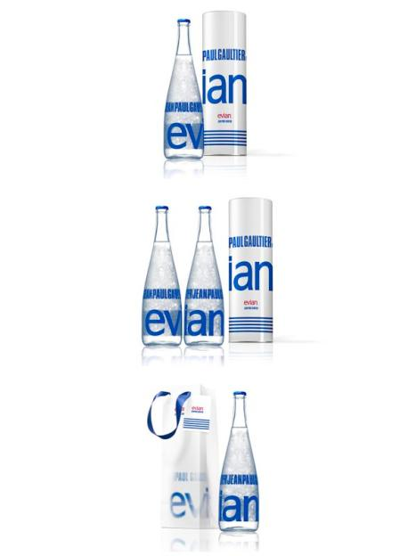 Evian by Jean Paul Gaultier