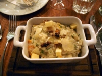 Root Vegetable Risotto with Fontina, Toasted Walnuts