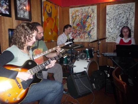Grupo Água Viva no Teta Jazz
